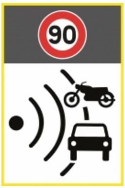 nouveaux panneaux de signalisation de radars mutuelle des motards. Black Bedroom Furniture Sets. Home Design Ideas